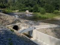 Společnost GEEN Holding dostavěla na řece Opavě malou vodní elektrárnu Široká Niva, provoz je spuštěn od začátku září 2018