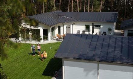 Elegantní střecha, která vyrábí elektřinu. Neviditelně!