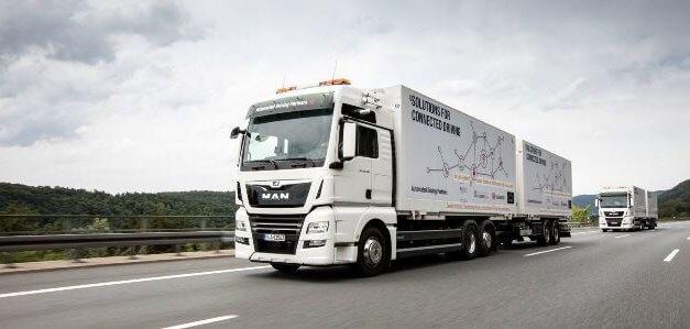 Přeprava v autonomních kamionech: vědci vidí v zavedení platooningu do praxe velký potenciál