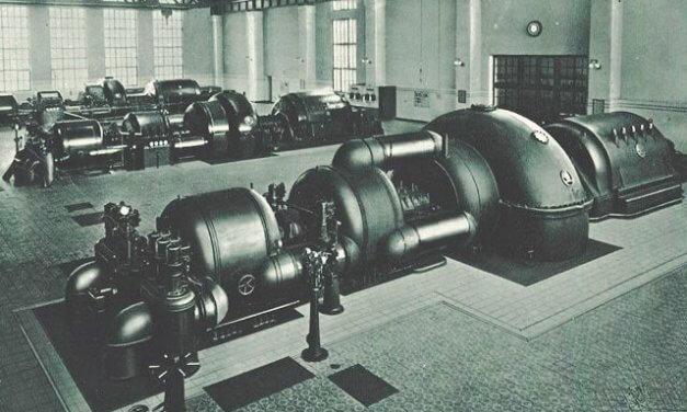 Výroba a rozvádění energie ve XX. století