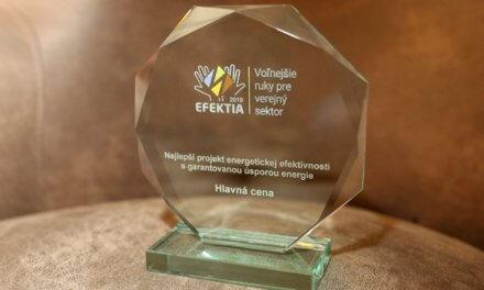 Nejlepší projekt energetických úspor na Slovensku je od společnosti e-Dome z ČEZ ESCO