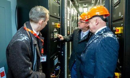 ČEZ zahájil provoz 4MW baterie v rámci společného pilotního projektu s ČEPS
