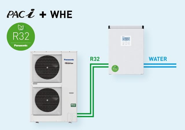 Nový vodní výměník tepla Panasonic pro jednotky PACi lze využít v klimatizačních systémech