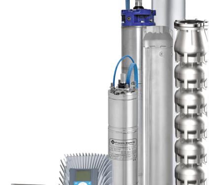 Čerpací systém FRANKLIN ELECTRIC HES je energeticky úsporný