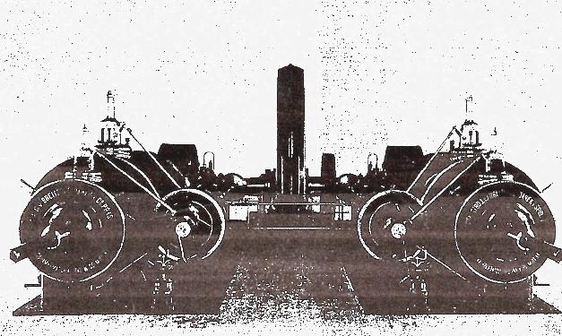 Elektrická centrála pro půhon továrny