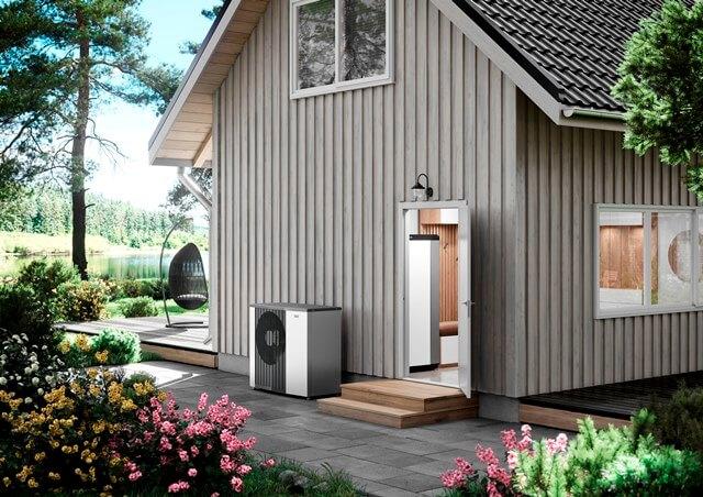 """Energeticky úsporná vnitřní jednotka nové řady NIBE """"S"""" automaticky reguluje vnitřní klima domácnosti"""