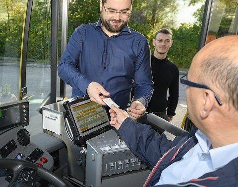 TOUGHBOOKy Panasonic usnadňují prodej jízdenek ve švýcarských autobusech