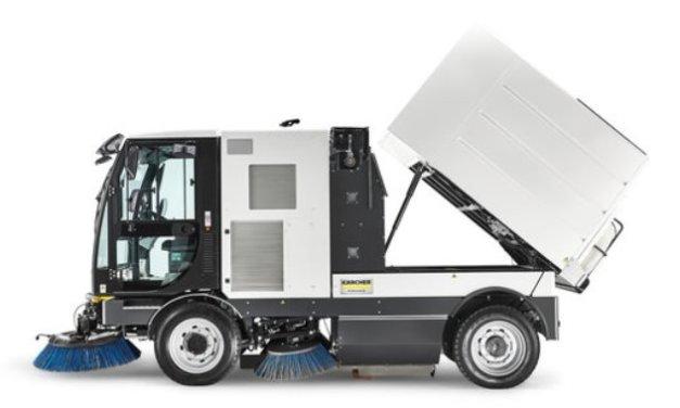 Kärcher uvádí na trh silniční mechanický zametací stroj MCM 600, specialistu na prašné prostředí