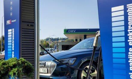 OMV podporuje elektromobilitu, u 44 čerpacích stanic instaluje dobíjecí stanice PREpoint