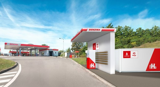 Bonett nainstaluje tři vodíkové stojany na čerpacích stanicích Benzina