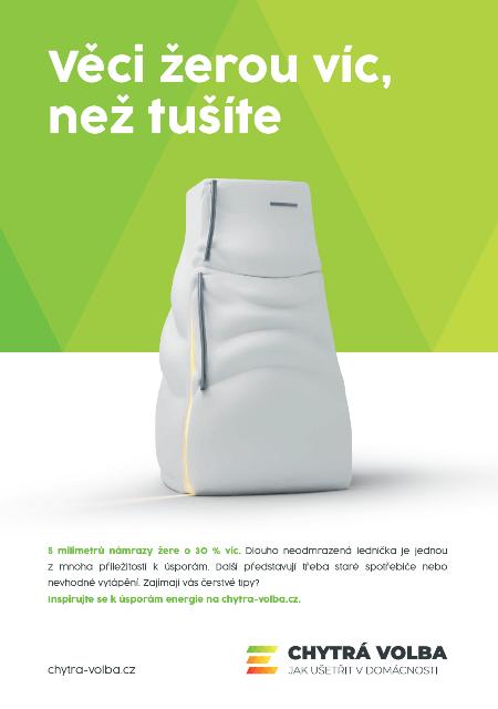 Ministerstvo průmyslu a obchodu spouští kampaň Chytrá volba. Čechům má pomoci vyhledávat příležitosti k úsporám energie