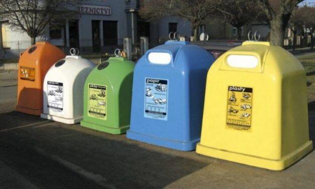 Třídění odpadů je nejdůležitějším krokem k jejich úspěšné recyklaci
