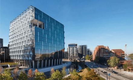 Nová budova velvyslanectví USA v Londýně získala ocenění Excellence od CTBUH