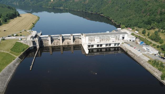 Elektrárna Kamýk šetří vltavskou vodu a zásobuje dalších více než 1000 domácností