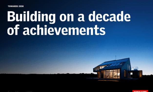 VELUX Group za poslední desetiletí snížila firemní emise uhlíku o více než polovinu
