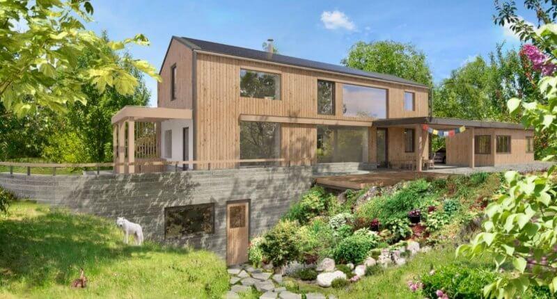 Inteligentní rodinný dům bude testován v Omicích u Brna