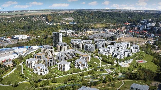 Společná terasa na grilování, prostor pro coworking či sdílená kola, to je budoucnost nájemního bydlení