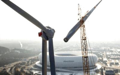 Německá ENERGIEWENDE je konfrontována s novou problematikou – likvidací dosluhujících větrných elektráren