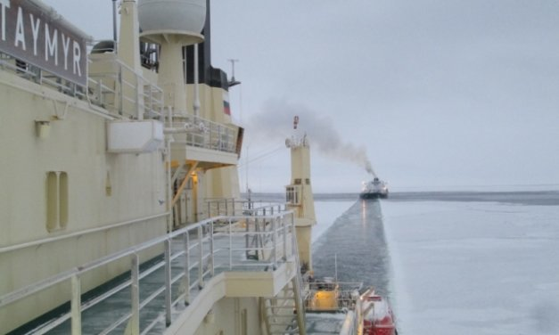 Ledoborce zkrátí o 20 % délku přepravy nákladů po Severní mořské cestě