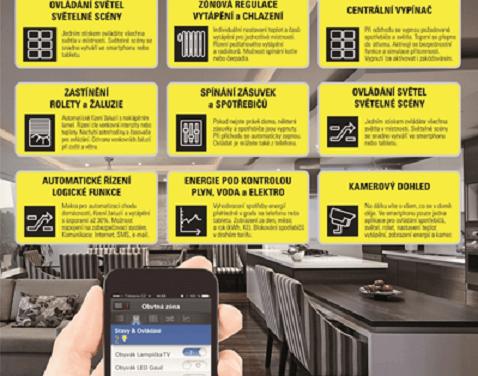 Víte, co všechno vám vyřeší bezdrátová elektroinstalace EATON xComfort?
