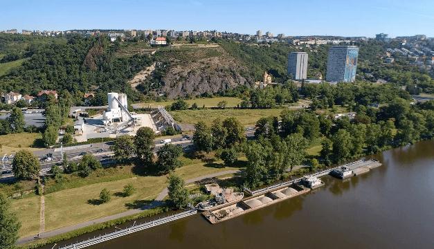 Ekologické betonárny patří do moderního města