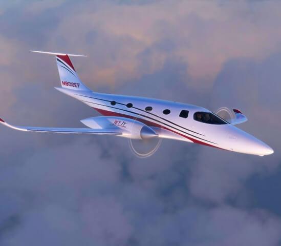 JetClub letí vstříc udržitelné budoucnosti s elektrickým letadlem eFlyer 800
