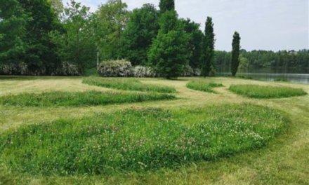 Písek udržuje trávníky pomocí metod šetrných k přírodě