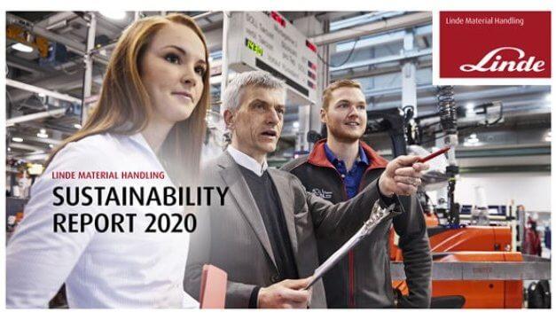 Linde Material Handling zveřejnila zprávu o udržitelnosti za rok 2020: Transparentnost současného stavu a cílů